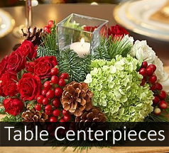 Christmas Table Arrangements Flowers.Christmas Table Centerpieces Christmas Flowers Christmas