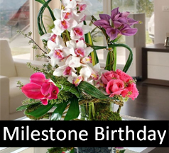 Birthday Flowers Gifts Milestone Birthdays