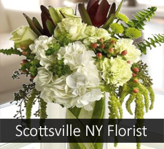 Flower Shop Scottsville NY