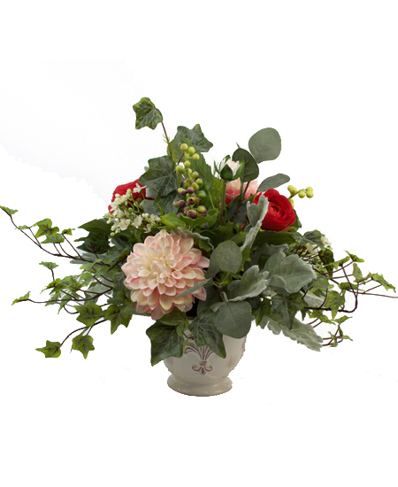 Silk flowers garden silk bouquet rochester ny florist garden silk bouquet same day delivery mightylinksfo