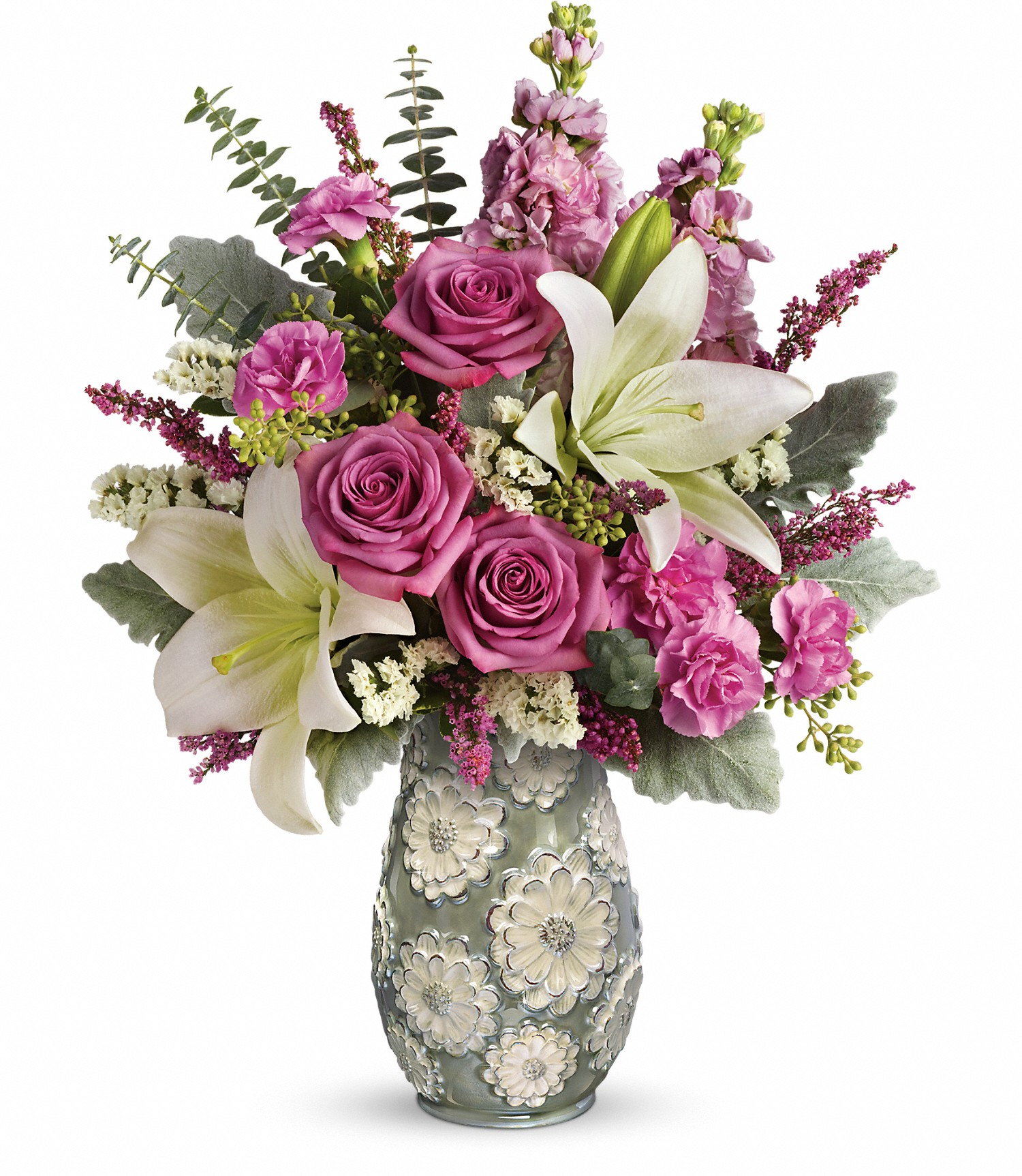 Birthday For Her Blooming Spring Bouquet Rochester Ny Florist